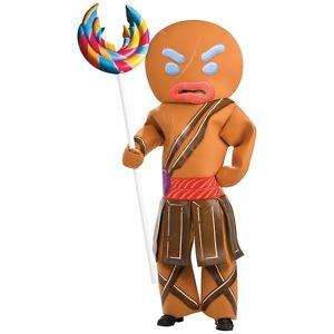 Gingerbread Man Warrior 大人用 Shrek シュレックFunny & Whacky ハロウィン コスチューム コスプレ 衣装 変装 仮装
