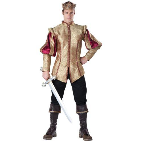 KingMedieval or Renaissance Prince 大人用 ハロウィン コスチューム コスプレ 衣装 変装 仮装