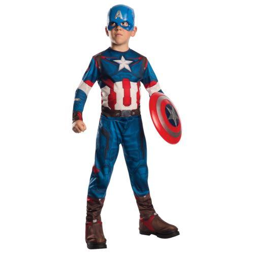 【全品P5倍】Captain America キャプテンアメリカ キッズ 子供用 Avengers アベンジャーズSuperhero クリスマス ハロウィン コスチューム コスプレ 衣装 変装 仮装