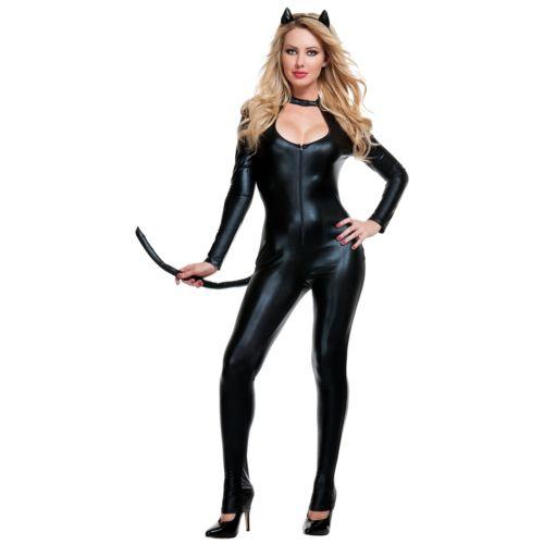 【ポイント最大29倍●お買い物マラソン限定!エントリー】Klepto Kat 大人用 Catwoman ブラック Cat Woman ハロウィン コスチューム コスプレ 衣装 変装 仮装