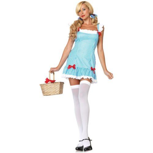 Dorothy 大人用 レディス 女性用 セクシー オズの魔法使い ハロウィン コスチューム コスプレ 衣装 変装 仮装