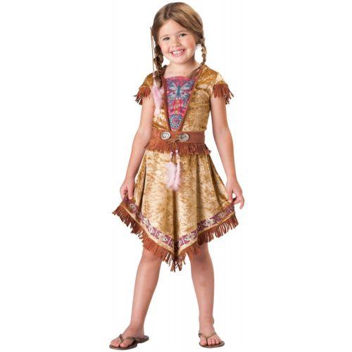 インディアン maiden キッズ 子供用 Pocahontas Princess ハロウィン コスチューム コスプレ 衣装 変装 仮装