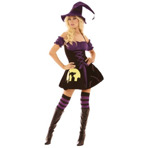 【店内全品P5倍】Moonlight 魔女 大人用 クリスマス ハロウィン コスチューム コスプレ 衣装 変装 仮装