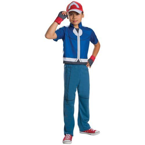 Deluxe Ash キッズ 子供用 Pokemon ポケモンポケモン ハロウィン コスチューム コスプレ 衣装 変装 仮装
