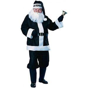 ブラック Santa スーツ 大人用 コスプレ スーツ Funny 男性用 メンズ クリスマス 仮装 ハロウィン コスチューム コスプレ 衣装 変装 仮装, ナガレヤマシ:1338ebde --- officewill.xsrv.jp