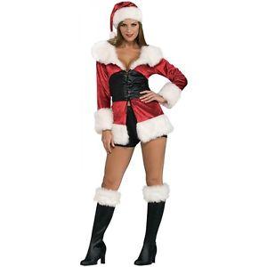 セクシー クリスマス Mrs Claus 大人用 Outfit ハロウィン コスチューム コスプレ 衣装 変装 仮装