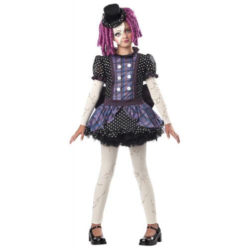 Broken Doll キッズ 子供用 Creepy クリスマス ハロウィン コスチューム コスプレ 衣装 変装 仮装