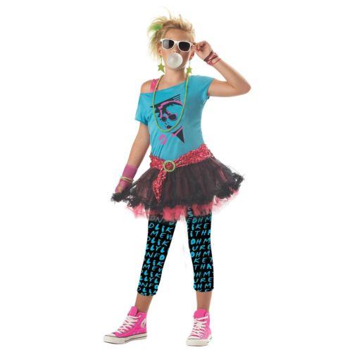 80's Valley ガール キッズ 子供用 Valley ガール ハロウィン コスチューム コスプレ 衣装 変装 仮装