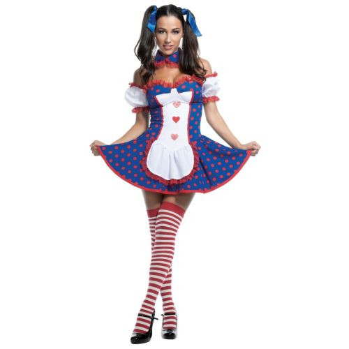 Adult Rag トラスト Doll Costume Sexy Halloween Fancy Dress 4日~ 全品P5倍 コスプレ ハロウィン 仮装 クーポン有 ランキングTOP10 大人用 変装 Dollセクシー コスチューム クリスマス 衣装