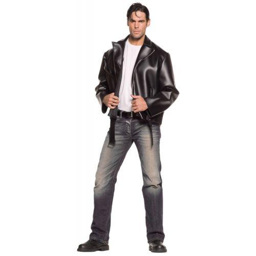 【ポイント最大29倍●お買い物マラソン限定!エントリー】Greaser50s Rockabilly ブラック Motorcycle ジャケット ハロウィン コスチューム コスプレ 衣装 変装 仮装