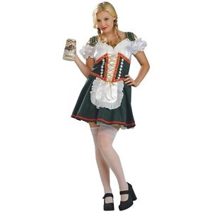 Beer Garden ガール 大人用 German オクトーバーフェスト ハロウィン コスチューム コスプレ 衣装 変装 仮装
