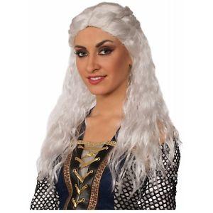 【ポイント最大29倍●お買い物マラソン限定!エントリー】Daenerys Targaryen ウィッグ レディス 女性用 大人用 Game Of ThronesKhaleesi ハロウィン コスチューム コスプレ 衣装 変装 仮装