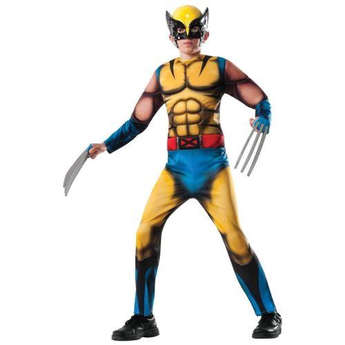 【ポイント最大29倍●お買い物マラソン限定!エントリー】Deluxe Wolverine ウルヴァリン キッズ 子供用 Wolverine ウルヴァリン ハロウィン コスチューム コスプレ 衣装 変装 仮装