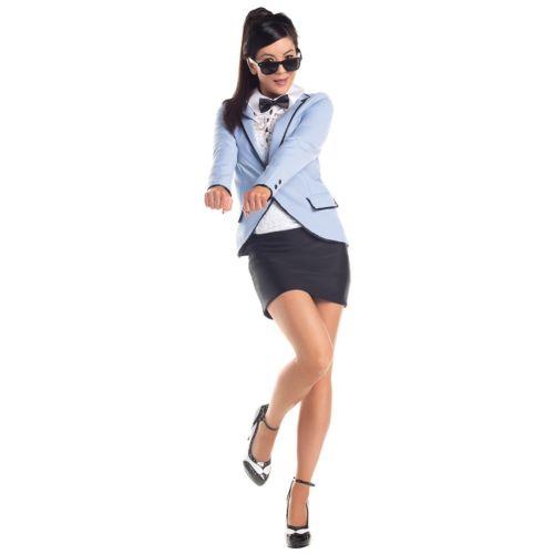 【店内全品P5倍】Women's ギャング ギャングスターヤクザ ヤンキーnam Style 大人用 Psy Pop Star Funny クリスマス ハロウィン コスチューム コスプレ 衣装 変装 仮装