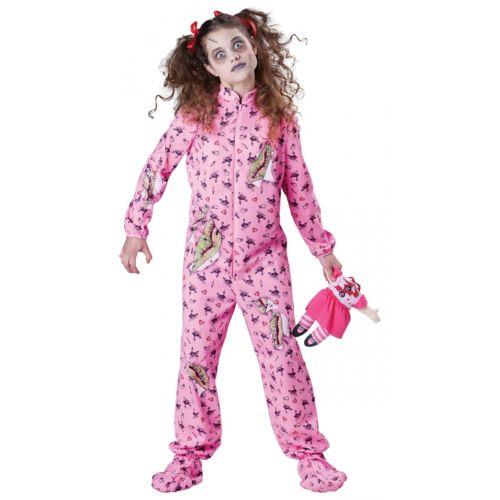 ゾンビ 幽霊 お化け ガール キッズ 子供用 ハロウィン コスチューム コスプレ 衣装 変装 仮装