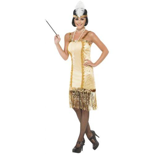 フラッパー 大人用 Gatsby ガール Roaring 20s ハロウィン コスチューム コスプレ 衣装 変装 仮装