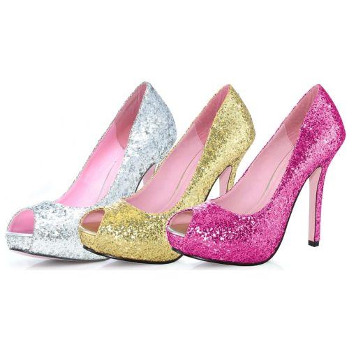 Ella Glitter Pumps 5