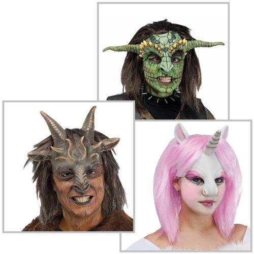 【全品P5倍】Masks 大人用 アクセサリー クリスマス ハロウィン コスチューム コスプレ 衣装 変装 仮装