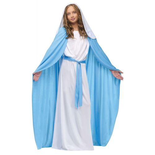 Mary キッズ 子供用 クリスマス ハロウィン コスチューム コスプレ 衣装 変装 仮装