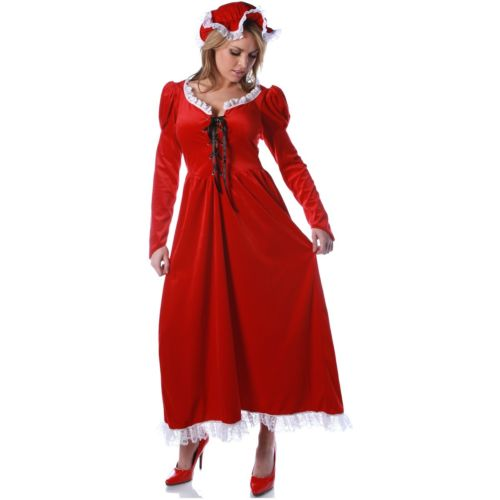 The Sweetie Mrs Claus 大人用 Santa's Sweetie クリスマス クリスマス Long Red Claus ハロウィン コスチューム コスプレ 衣装 変装 仮装, 測定機器マーケット:ef5aed8a --- officewill.xsrv.jp