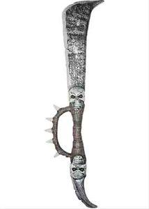 【ポイント最大29倍●お買い物マラソン限定!エントリー】Spiked Skull Sword Medieval おもちゃ 武器 ドレスアップ アクセサリー ハロウィン コスチューム コスプレ 衣装 変装 仮装