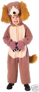 【全品P5倍】Lucky Dog Puppy Animal Plush Fleece ドレスアップ Toddler 子供用 2-4 クリスマス ハロウィン コスチューム コスプレ 衣装 変装 仮装