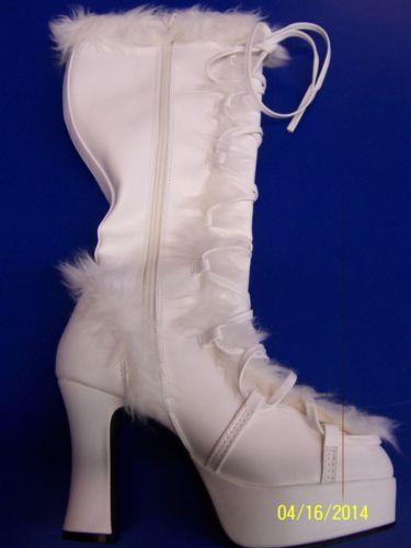 MAMMOTH Boots 仮装 Fur Boots ホワイト Yeti Snow 大人用 アクセサリー ハロウィン ハロウィン コスチューム コスプレ 衣装 変装 仮装, MADMAX:70c4bcb2 --- officewill.xsrv.jp
