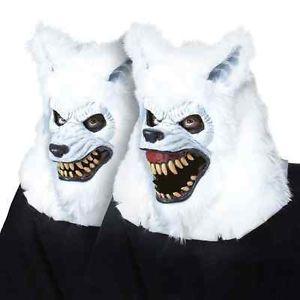 ホワイト 仮装 Lycan マスク Werewolf ウルフ Jaw オオカミ 狼 Moving Jaw Moving Mouth アクセサリー ハロウィン コスチューム コスプレ 衣装 変装 仮装, 赤ちゃんの肌着 ほほえみ工房:4e0c9033 --- officewill.xsrv.jp