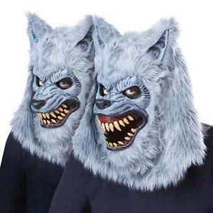 【ポイント最大29倍●お買い物マラソン限定!エントリー】Blood Moon マスク Werewolf ウルフ オオカミ 狼 Moving Jaw Mouth アクセサリー ハロウィン コスチューム コスプレ 衣装 変装 仮装