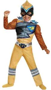 Gold Ranger Power Ranger パワーレンジャーDino ChargeDeluxe Toddler 子供用 クリスマス ハロウィン コスチューム コスプレ 衣装 変装 仮装