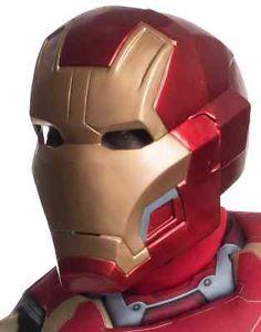 IronManアイアンマンMaskHelmetMarvelマーブルSuperheroAvengersアベンジャーズ大人用アクセサリーハロウィンコスチュームコスプレ衣装変装仮装