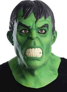 Hulk マスク Marvel マーブル スーパーヒーロー Incレッドible グリーン 大人用 アクセサリー ハロウィン コスチューム コスプレ 衣装 変装 仮装