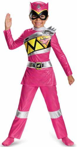Pink Ranger Power Ranger パワーレンジャーDino ChargeDeluxe Toddler 子供用 ハロウィン コスチューム コスプレ 衣装 変装 仮装