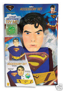 【ポイント最大29倍●お買い物マラソン限定!エントリー】Superman スーパーマンReturns 子供用 アクセサリー Blister Kit ハロウィン コスチューム コスプレ 衣装 変装 仮装