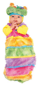 【ポイント最大29倍●お買い物マラソン限定!エントリー】Wiggly Worm Inch Cute Infant 子供用 Bunting ハロウィン コスチューム コスプレ 衣装 変装 仮装