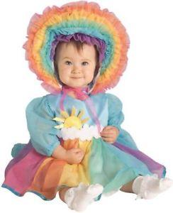 【ポイント最大29倍●お買い物マラソン限定!エントリー】Rainbow ベイビー Cute ドレスアップ Infant Toddler 子供用 ハロウィン コスチューム コスプレ 衣装 変装 仮装