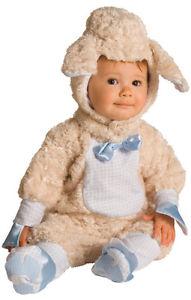 Cute as Can Be Lamb ヒツジ 羊 Noah's Ark ベイビー Animal Infant Toddler 子供用 ハロウィン コスチューム コスプレ 衣装 変装 仮装