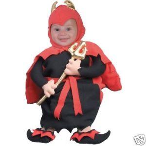 【ポイント最大29倍●お買い物マラソン限定!エントリー】Adora アドラ アドラドール ble Lil' Devil ベイビー Child- Infant/Newborn ハロウィン コスチューム コスプレ 衣装 変装 仮装