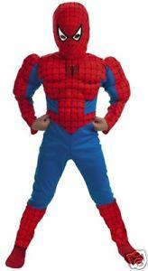 Amazing Spider-Man スパイダーマンSuper Hero スーパーヒーローズDLX Muscle 子供用 クリスマス ハロウィン コスチューム コスプレ 衣装 変装 仮装