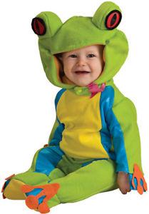 Tree Froggie Frog Cute DLX Infant Toddler 子供用 ハロウィン コスチューム コスプレ 衣装 変装 仮装