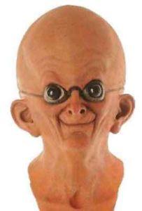 【全品P5倍】Dr. Nefarious Mask Brain Evil Mad Scientist 大人用 アクセサリー クリスマス ハロウィン コスチューム コスプレ 衣装 変装 仮装