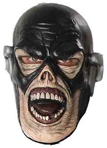 Flash ゾンビ 幽霊 お化け マスク スーパーヒーロー ブラックest Knight 大人用 アクセサリー ハロウィン コスチューム コスプレ 衣装 変装 仮装