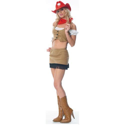 ワイルド West Sheriff 大人用 セクシー カウガール Western ハロウィン コスチューム コスプレ 衣装 変装 仮装
