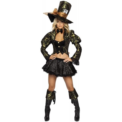 Tea パーティTease 大人用 Mad Hatter マッドハッター ハロウィン コスチューム コスプレ 衣装 変装 仮装