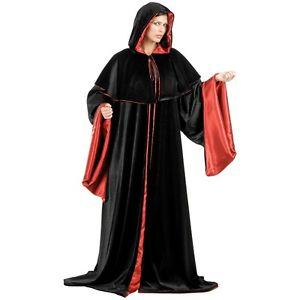 Dark Lord Cloak 大人用 ブラック Velvet ローブ 仮装 w/ 大人用 Velvet Red Satin Lining ハロウィン コスチューム コスプレ 衣装 変装 仮装, BEES HIGH:332e797d --- officewill.xsrv.jp