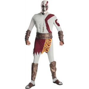【ポイント最大29倍●お買い物マラソン限定!エントリー】Kratos 大人用 God of War ハロウィン コスチューム コスプレ 衣装 変装 仮装