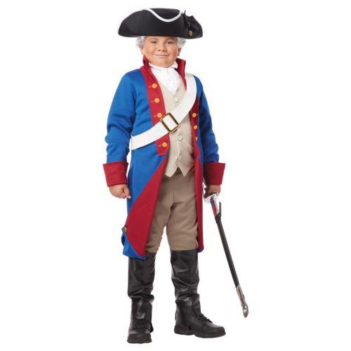 George Washington George 子供用 コスチューム ガールズ Revolutionary War Soldier ハロウィン コスチューム ガールズ コスプレ 衣装 変装 仮装, GINZA RASIN:62313385 --- officewill.xsrv.jp