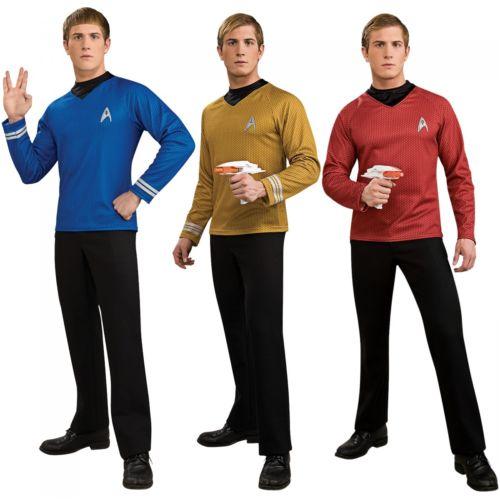 Star Trek スタートレック 大人用 Deluxe Star Fleet ユニフォーム クリスマス ハロウィン コスチューム コスプレ 衣装 変装 仮装