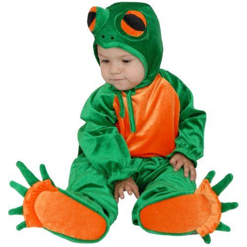 【ポイント最大29倍●お買い物マラソン限定!エントリー】Little Frogベイビー Cute Plush ハロウィン コスチューム コスプレ 衣装 変装 仮装