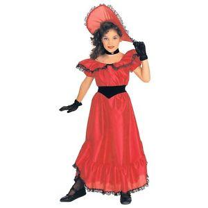 Red Southern Belle キッズ 子供用 クリスマス ハロウィン コスチューム コスプレ 衣装 変装 仮装